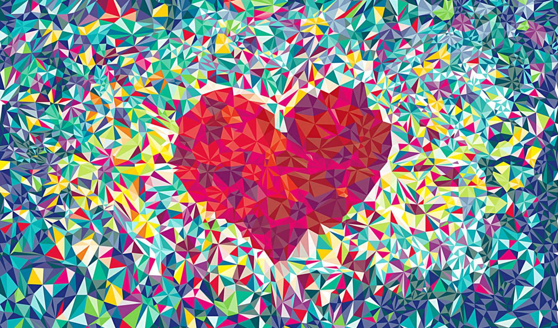 , сердце, love, смена, abstract,