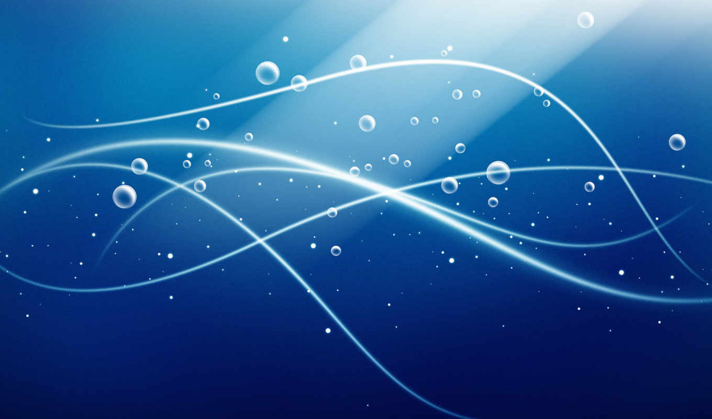 ecran, fonds, fond, bulle, bleu, design, des, bulles,