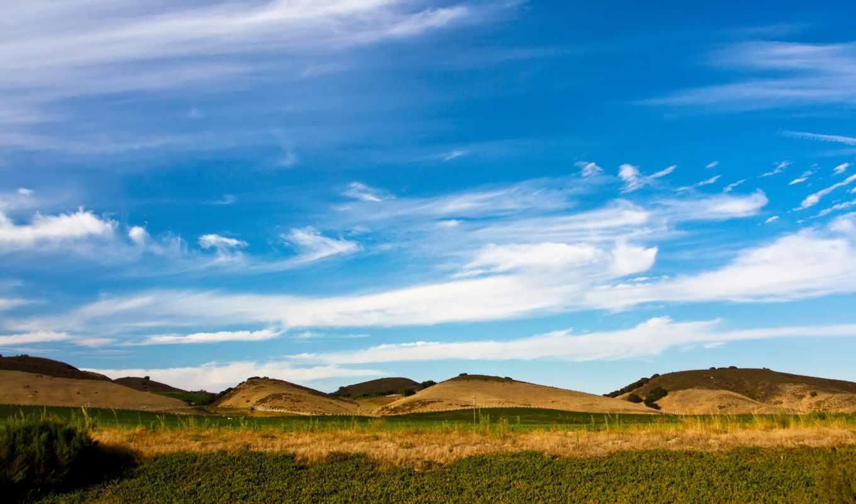 небо, blue, desktop, фон, природа,