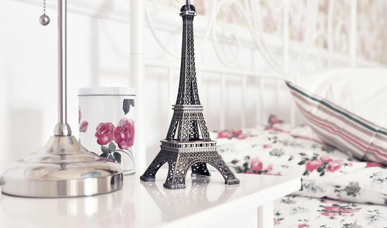 телефон, красивые, заставки, розы, эйфелева, телефона, статуэтка, eiffel, turret,