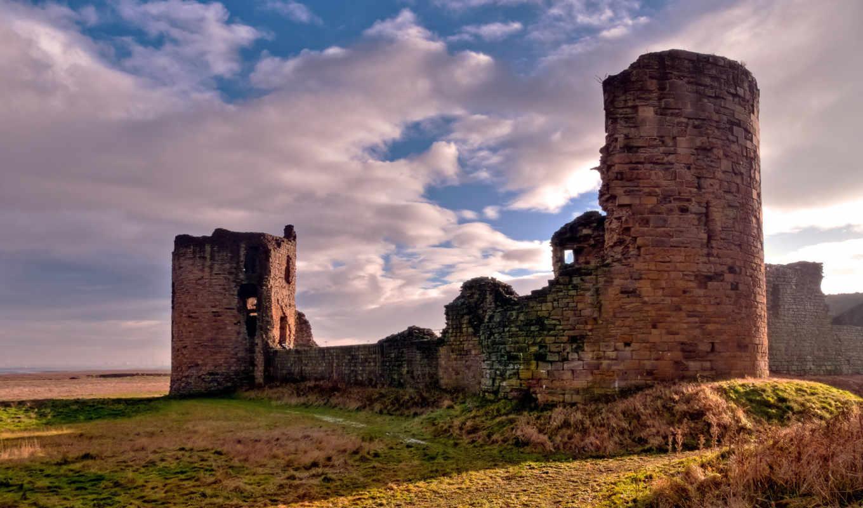 старой, кирпичной, крепости, поле, останки, şəkilləri, göndərən, cama, duzeldecem,