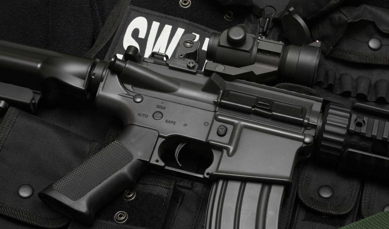 оружие, машина, винтовка, оригинал, swat, картинка,
