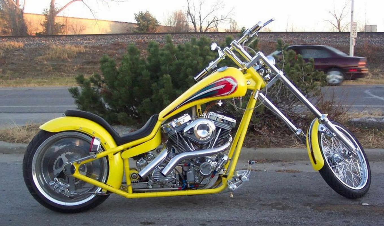motorbikes, чеппер, rr, желтый, bmw,