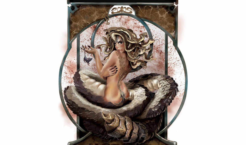 девушки, девушка, фэнтези, хвостом, девушек, со, красивые, новых, змеиным, рейтинг,