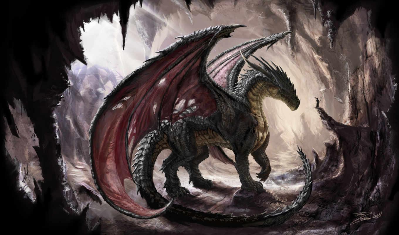 дракон, свой, совершенно,