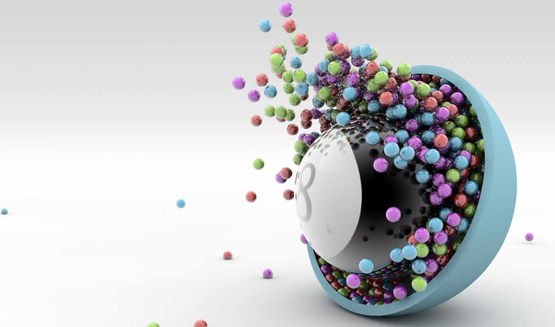 бильярд, shariki, шар, чаша, конфеты,