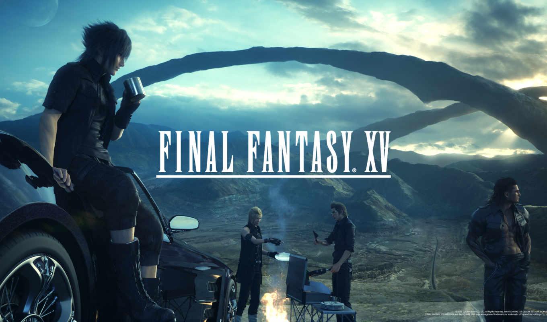 fantasy, final, release, xv, ffxv,