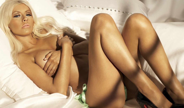 christina, агилера, aguilera, hot, девушка, babes, sexy, постель, трусики, awesome, pic,