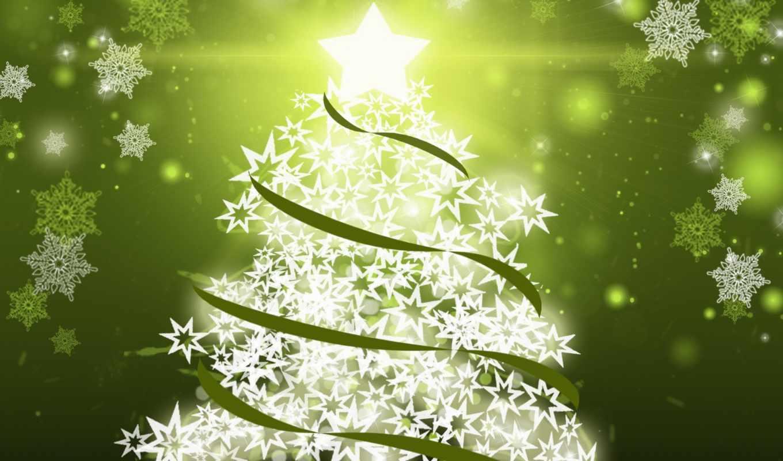 tree, christmas, magic,