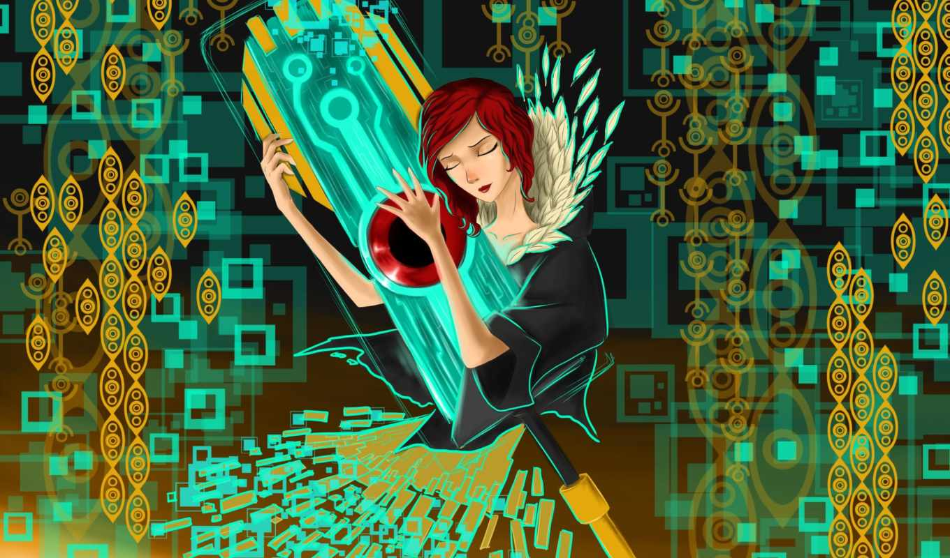 pictures, transistor, red, games, только, supergiant, every, photos, июня, день, art, new, screensavers,