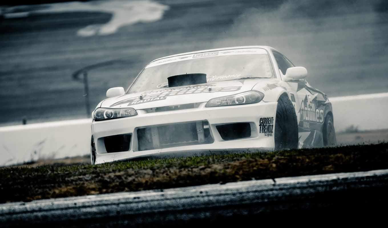car, drift, silvia, nissan, track,
