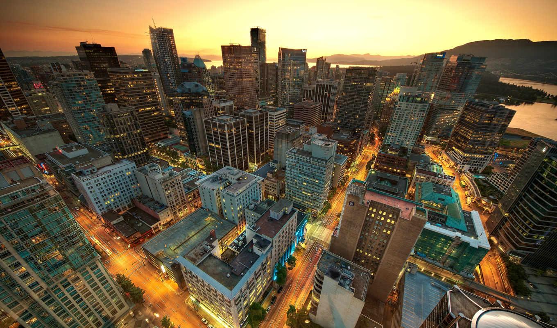 downtown, vancouver, город, angeles, los, title,