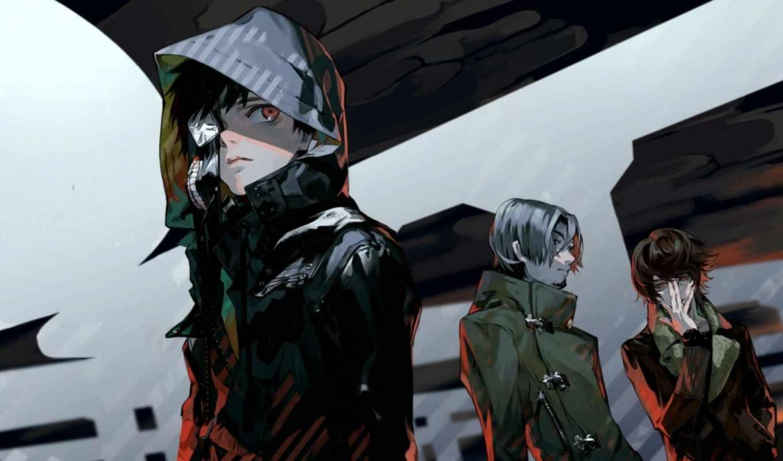 anime, гуль, tokyo, ghoul, season, ken, kaneki, парень,