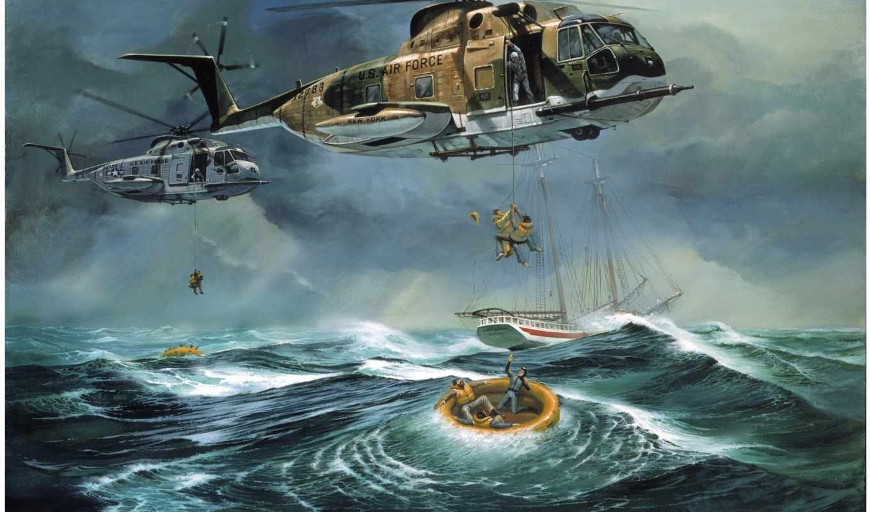 скачать, картинку, люди, ocean, выберите, don, вертолеты, кнопкой, правой, мыши, helicopter, millsap, спасение, atlantic, rescue,