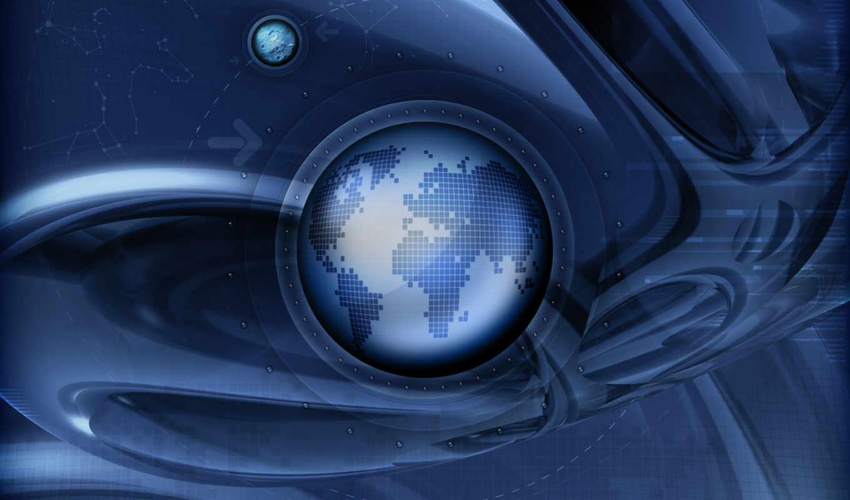 планета, траектория, земля, digital, графика, world, картинка, vladstudio, смотрите,