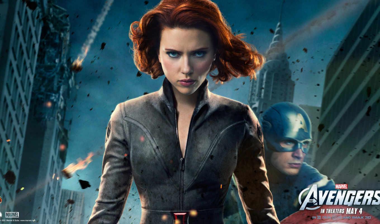avengers, black, widow, мстители, черная, скарлет, johansson, scarlett, movies, desktop,