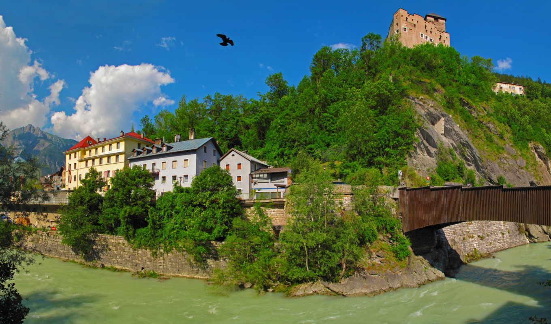 горы, природа, австрия,
