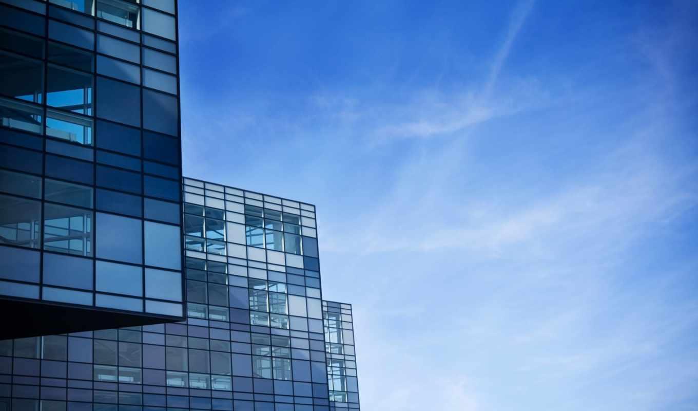 architecture, современный, февр, skyscrapers, buildings, windows, blue, skyscapes, houses, free,