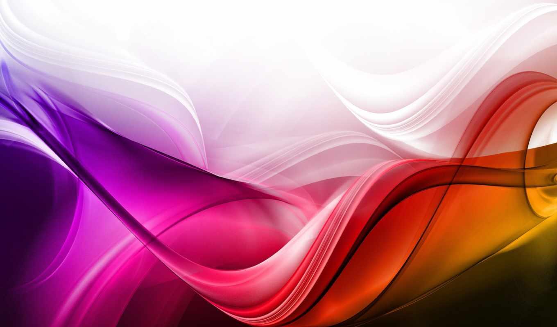 волны, цвета,линии,