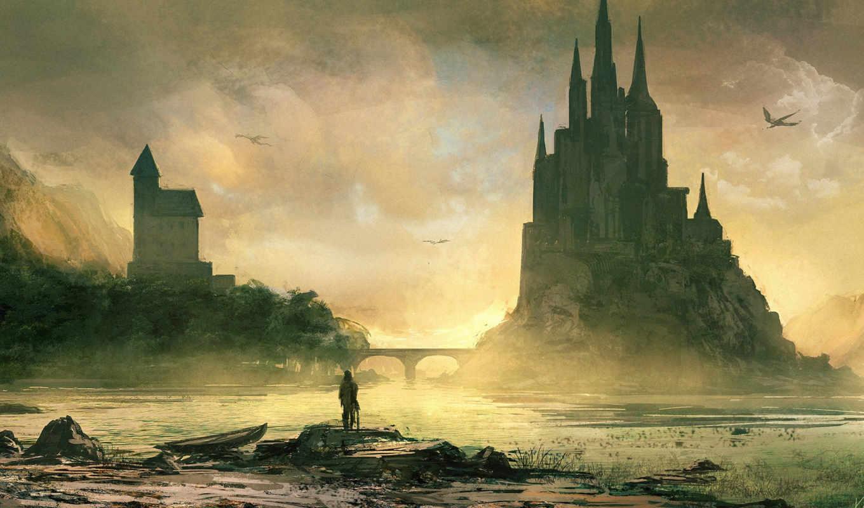 dorran, ричард, замок,