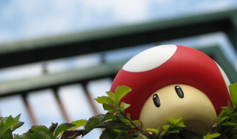 марио, mushroom, game, bro, супер