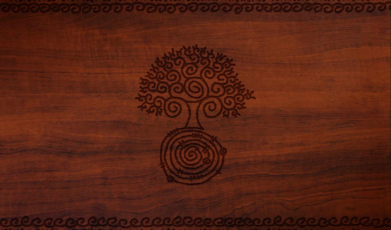 рисунок, дерево, стиль, картинка, разрешении,