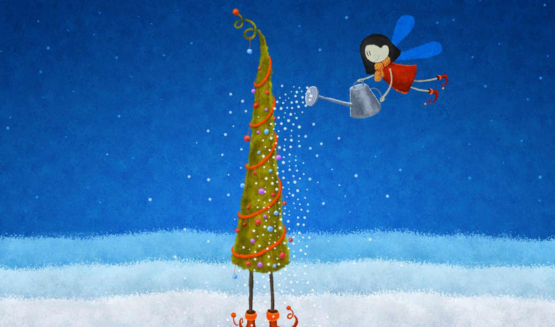 снежинки, елка, эльф, christmas, год, новый, гномик, xmas, max, похожие, праздники,