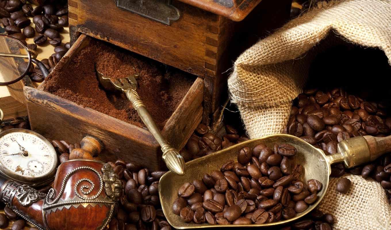 кофе, зерна, напитки, eда,