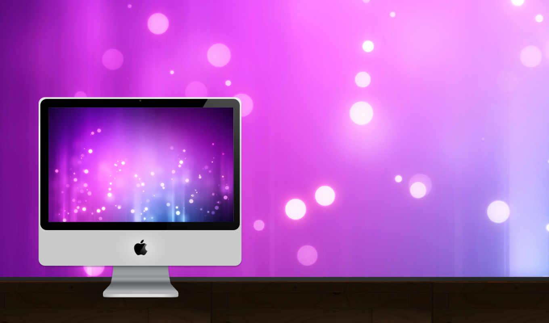 imac, apple, фон, desktop, desk,