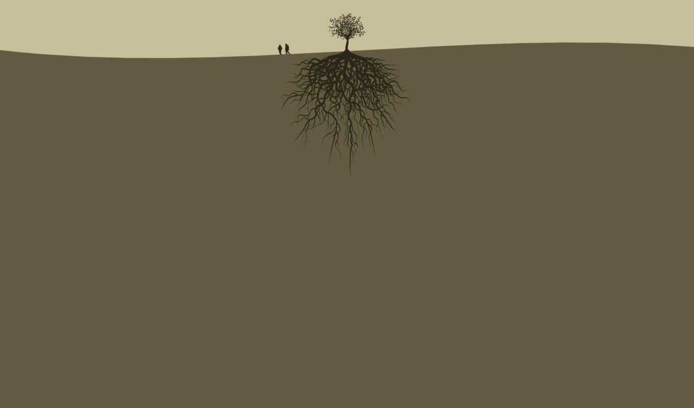 roots, tree, the, download, minimalism, wallpapers