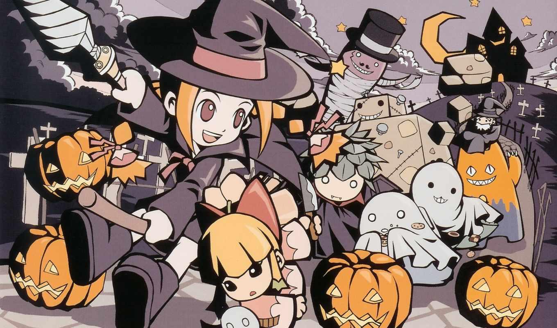 аниме, halloween, comics, collection,