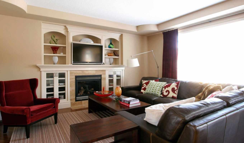 design, living, комната, completed, интерьер, молодой, decoration, пара,