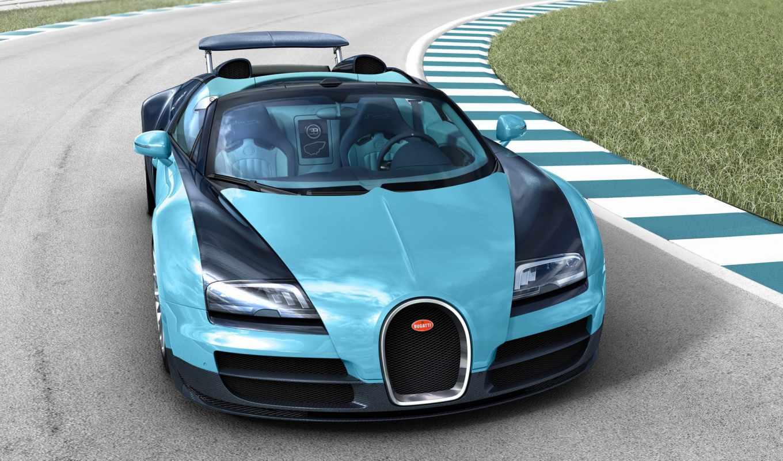 bugatti, veyron, спорт, grand, vitesse,
