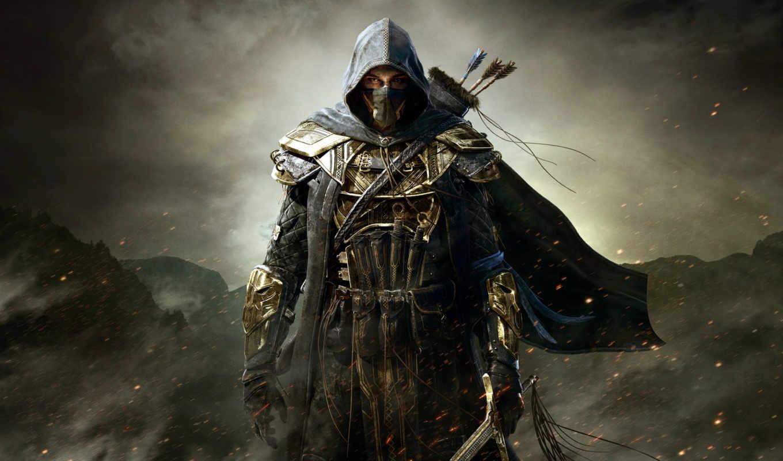 creed, assassin, assassins, убийца, ассасин, капюшон, scrolls, воин, elder,