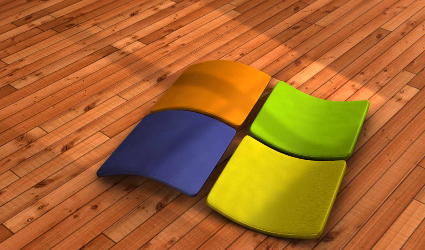 windows, se7en, logo, parquet, vood