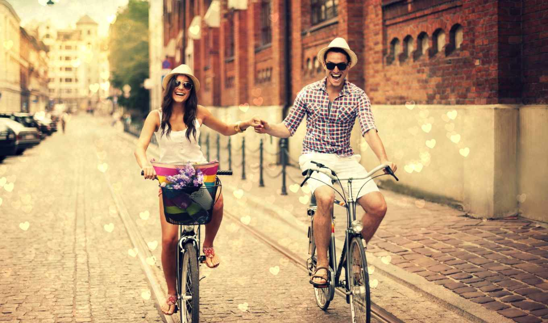 шляпа, девушка, девушки, парень, люди, max, любовь, images, dpi, настроения, велосипед, promenade,