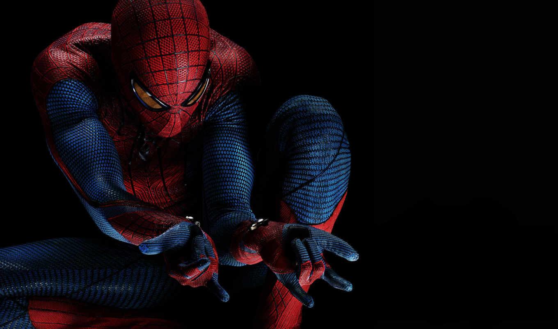 мужчина, паук, new, amazing,