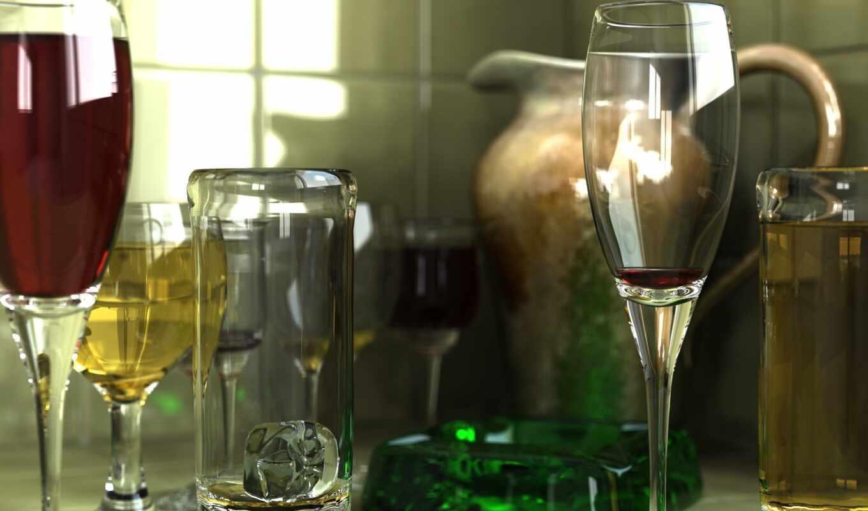 glasses, wine, cube, style, вина, от, окружающем, мире, нас, об, бокал,