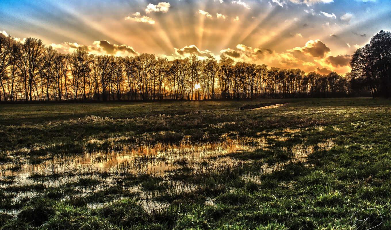 пейзажи -, красивые, природа, июня, природы, коллекция,