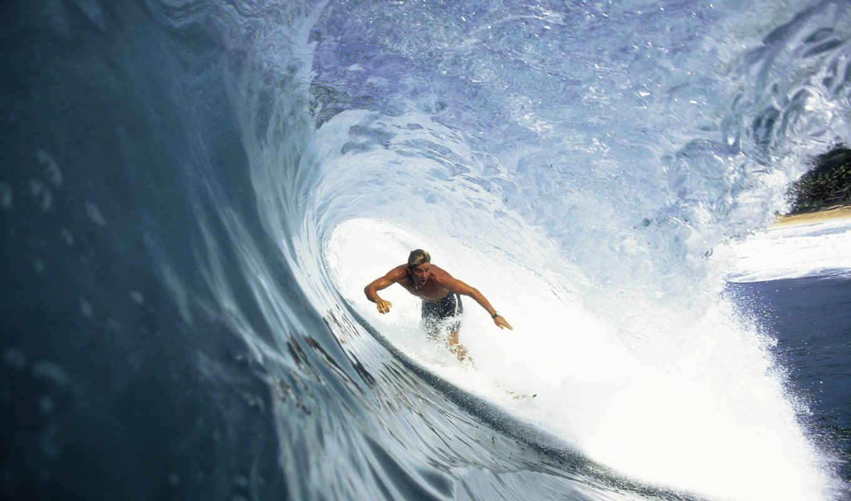 сёрфинг, волна, surfer, доска, картинка, ocean,