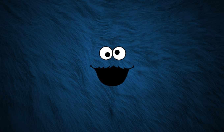 wallpapers, wallpaper, hd, desktop, скачать, and, ipad, синий, monster, background, funny, cookie, мех, рожа, similar, elmo,
