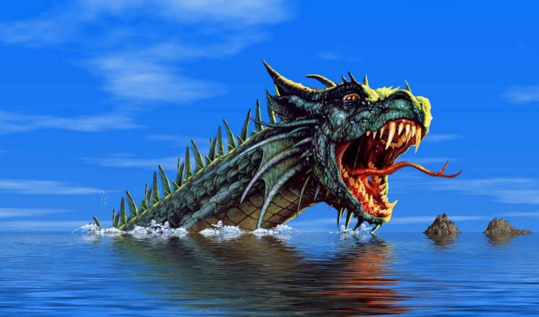 fantasy, dragon,