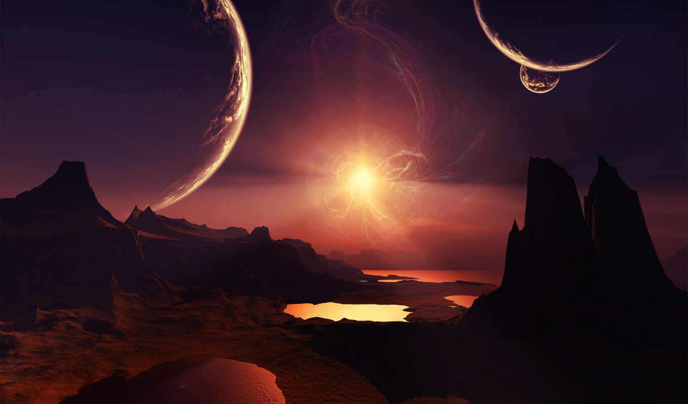 space, планеты, звезды, scenery, star, pictures, planets,