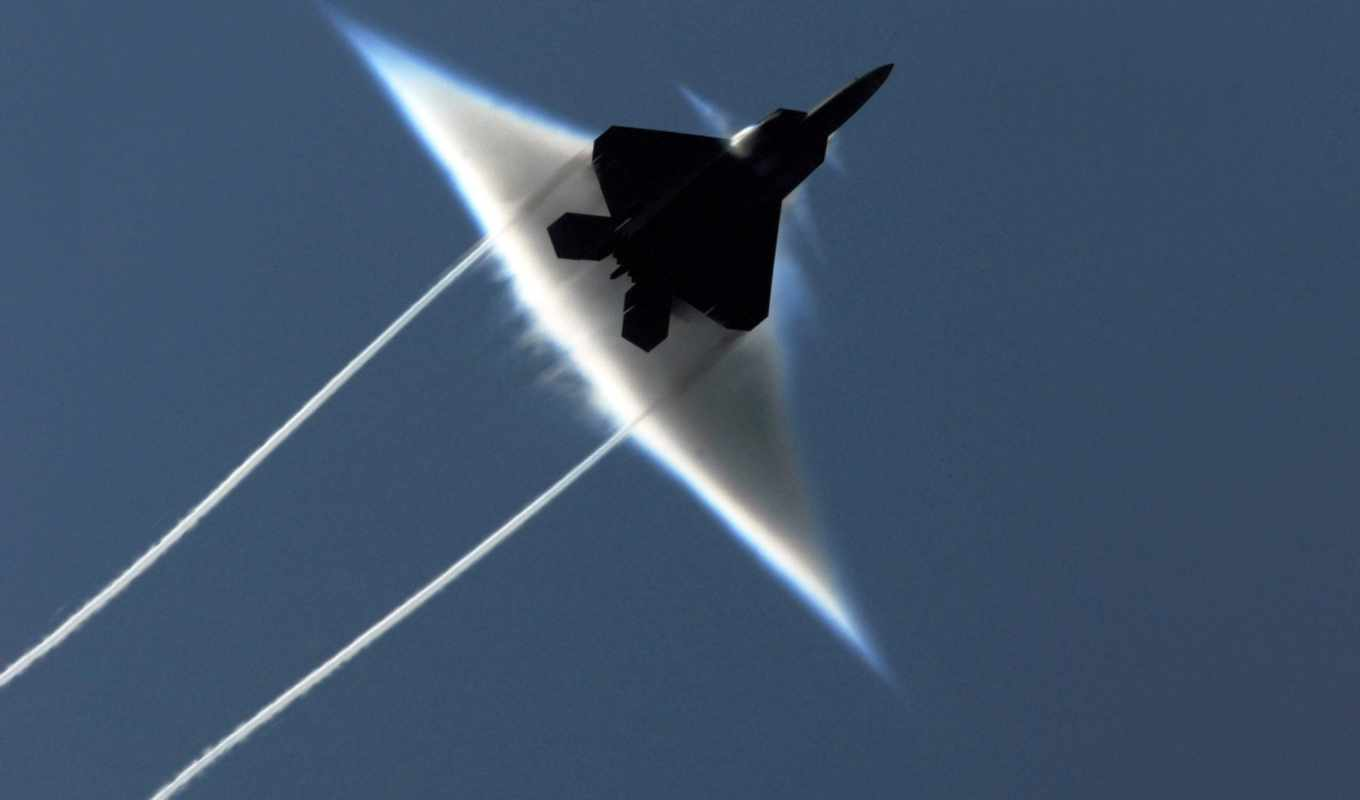 raptor, lockheed, martin, fighter, contrails,