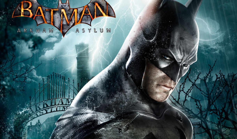 batman, arkham, asylum,