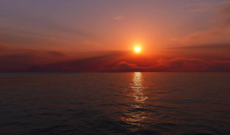восход, desktop, взлёт, sun, landscape,
