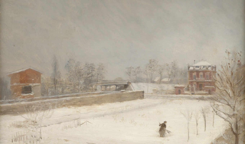landscape, giuseppe, winter, лондонская, nittis, национальная, gallery,