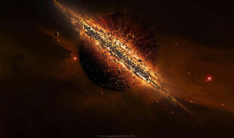 взрыв, космос, космоса, планеты, планета, сверхновой, iphone,