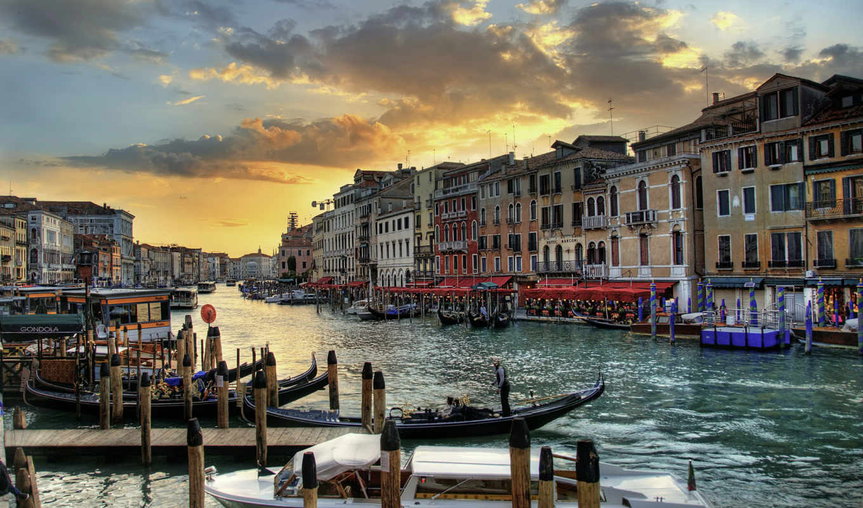 венеция, города, взгляд,