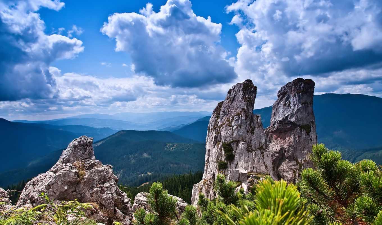 desktop, природы, landscapes, ultra, горы,